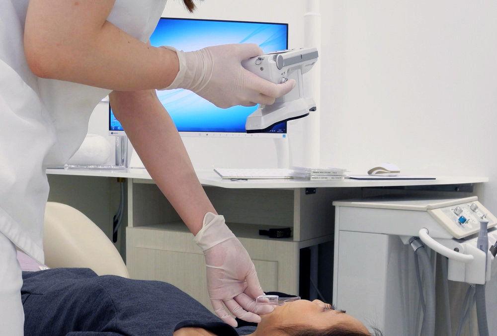 矯正治療のための口腔内CT撮影1