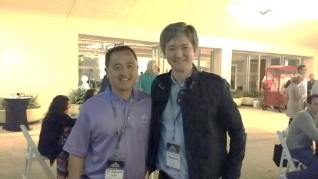 Ed Lin 先生と林院長