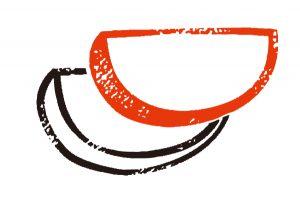 歯科矯正で会得できるスマイルラインはかまぼこのような形をしているのイメージ